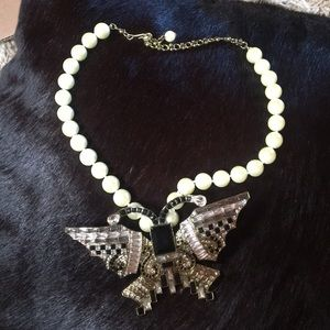 Heidi Daus statement butterfly necklace